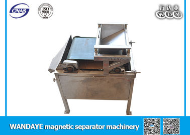 Belt Type Wet High Intensity Magnetic Separator Single - Layer